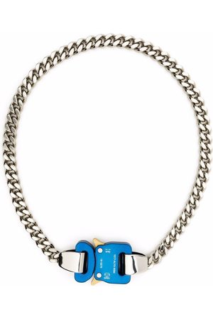 1017 ALYX 9SM Homem Colares - Two-tone chain necklace