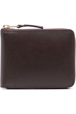 Comme Des Garçons Wallet Grained leather wallet
