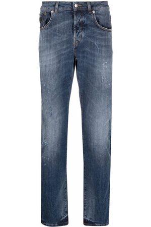 John Richmond Rear logo-print jeans