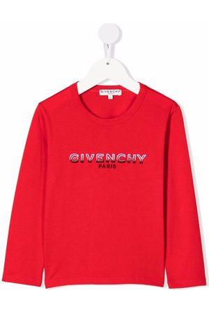 Givenchy Logo-print long-sleeved T-shirt