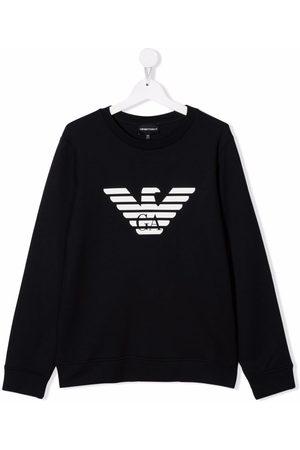 Emporio Armani Eagle logo-print sweatshirt