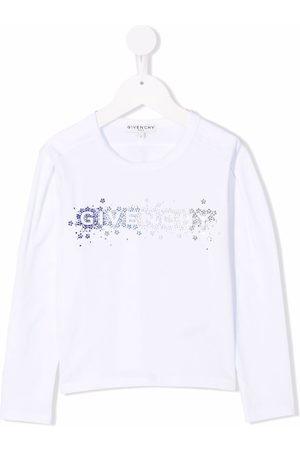 Givenchy Rhinestone logo T-shirt