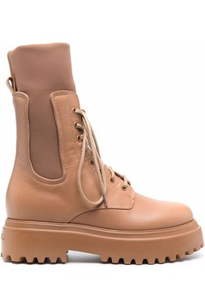 LE SILLA Lace-up ankle boots