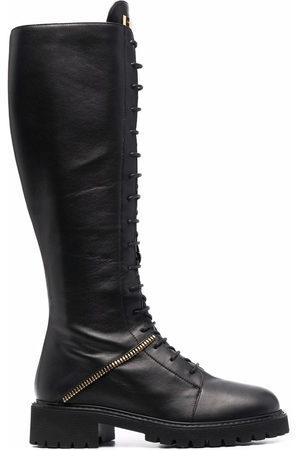 Giuseppe Zanotti Lace-up leather boots