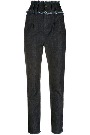 Andrea Bogosian Variety high-rise slim-fit jeans