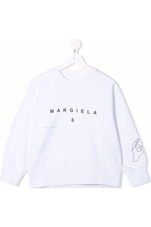 MM6 KIDS Logo-print sweatshirt