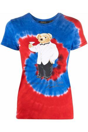Polo Ralph Lauren Polo Bear-motif tie-dye cotton T-shirt