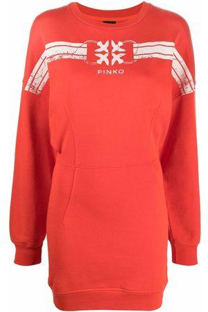 Pinko Logo-print sweater dress