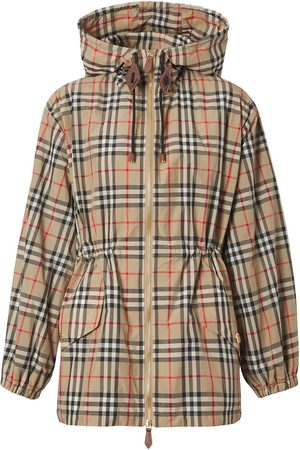 Burberry Vintage Check hooded jacket