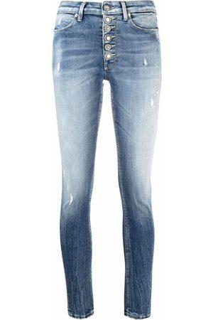 Dondup Low-rise stonewashed skinny jeans
