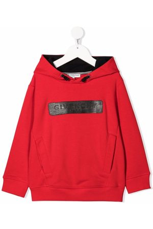 Givenchy Logo patch rib-trimmed hoodie