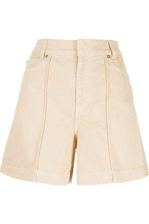 Victoria Victoria Beckham High-waisted denim shorts