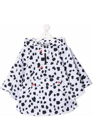 Stella McCartney Dalmatian spots cape