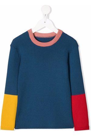 Stella McCartney Colour-block rib-knit jumper