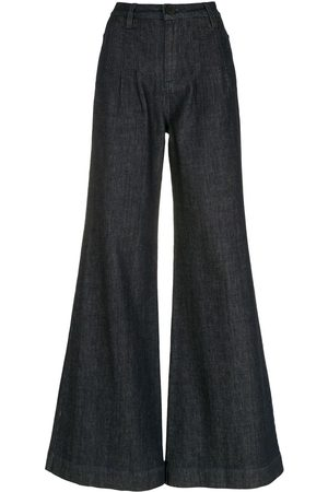 Andrea Bogosian Flared high-waist jeans