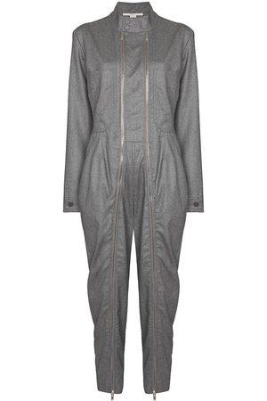 Stella McCartney Zip-detail wool jumpsuit