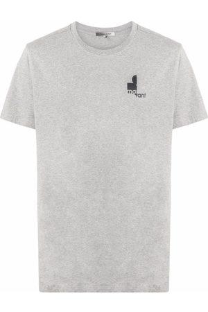 Isabel Marant Zafferh logo print T-shirt