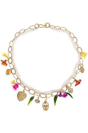 Mercedes Salazar Calaquita Necklace in - Metallic Gold. Size all.