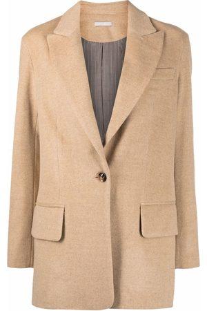 12 STOREEZ Senhora Blazers - Single-breasted wool blazer