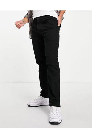 River Island Homem Retos - Straight jeans in black