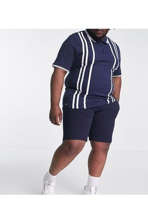 Only & Sons Smart jersey shorts in navy