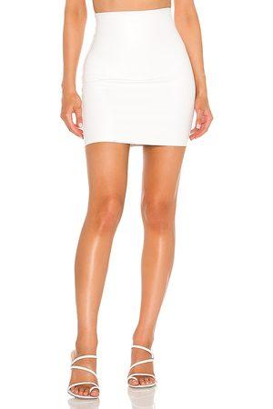 Commando Faux Leather Mini Skirt in - . Size L (also in S, M).