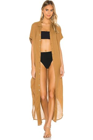 ACACIA Oahu Duster in - Tan. Size L (also in S, XS, M).