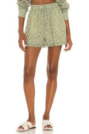 Tell Your Friends Lounge Short in - Green. Size L (also in XXS, XS, S, M, XL).