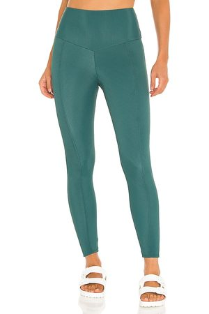 Onzie Sweetheart Legging in - Teal. Size M/L (also in S/M, XS/S).