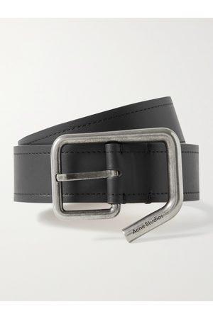 Acne Studios Homem Cintos - 3.5cm Leather Belt