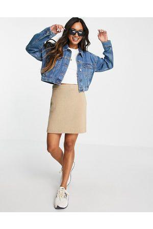 ASOS DESIGN Original' denim jacket in midwash-Blue