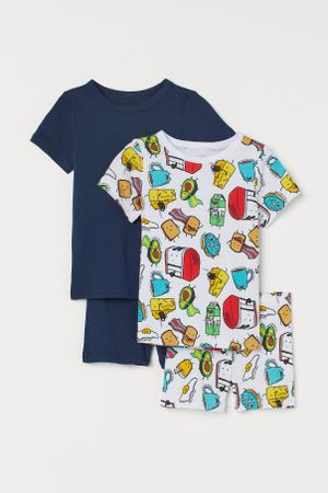 H&M Pack de 2 pijamas em algodão