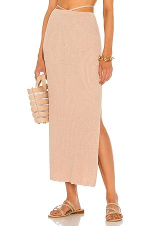 DEVON WINDSOR Sage Skirt in - Rose. Size L (also in XS, S, M, XL).