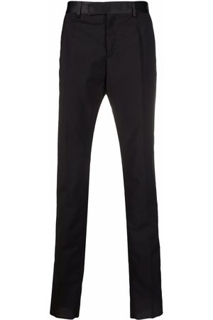 Versace Contrast-waistband trousers