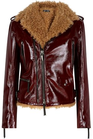 Giuseppe Zanotti Amelia high-shine jacket