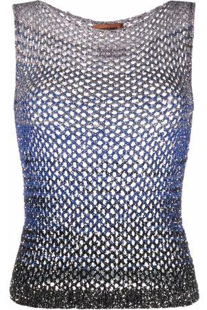 Missoni Sequin-embellished knit top