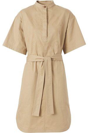 Burberry Logo-graphic cotton-twill dress