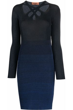 Missoni Cut-out detail knitted dress