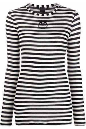 Pinko Striped long-sleeve T-shirt