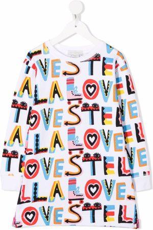 Stella McCartney Kids Stella Loves fleece dress