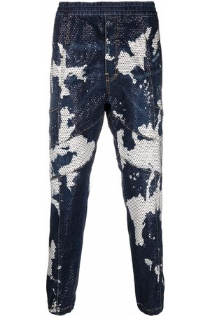 Dsquared2 Tie-dye tapered jeans