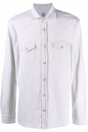 ELEVENTY Fitted long-sleeved shirt