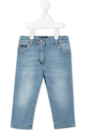 Dolce & Gabbana Kids Slim-cut denim jeans