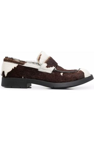 CamperLab 1978 cow print loafers
