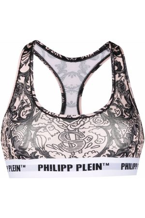 Philipp Plein New Baroque print bra