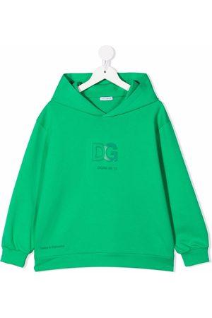 Dolce & Gabbana Kids Logo-print pullover hoodie