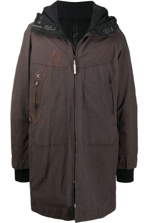 Isaac Sellam Experience Leather patch work jacket