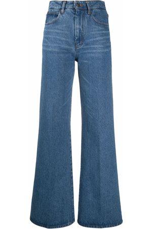 AMI Paris High-waisted flared jeans