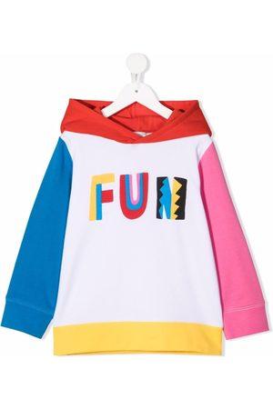 Stella McCartney Kids Fun colour-block hoodie