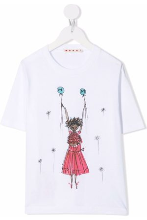 Marni Kids Graphic-print T-shirt